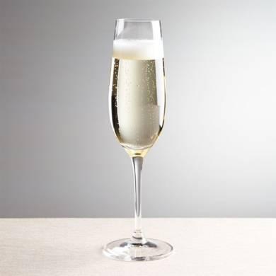 За шампанско